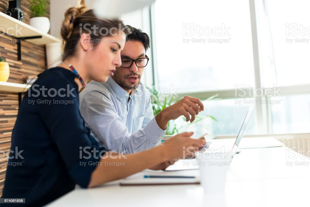Start up team royalty-free stock photo