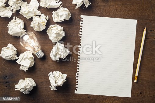 istock Start Writing Idea 895534452