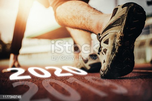 istock Start Your Life Happy New Year 2020 1177340745