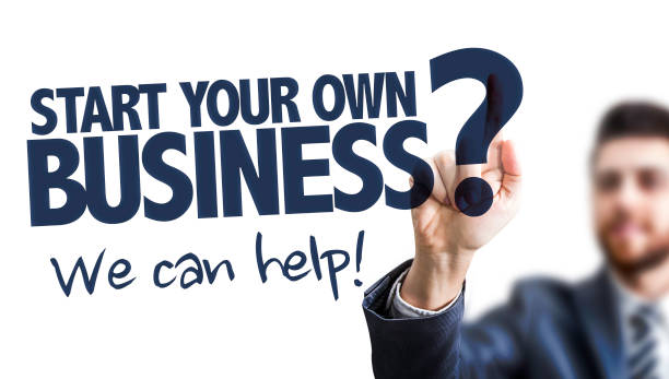 Start Your own Business? We Can Help stock photo