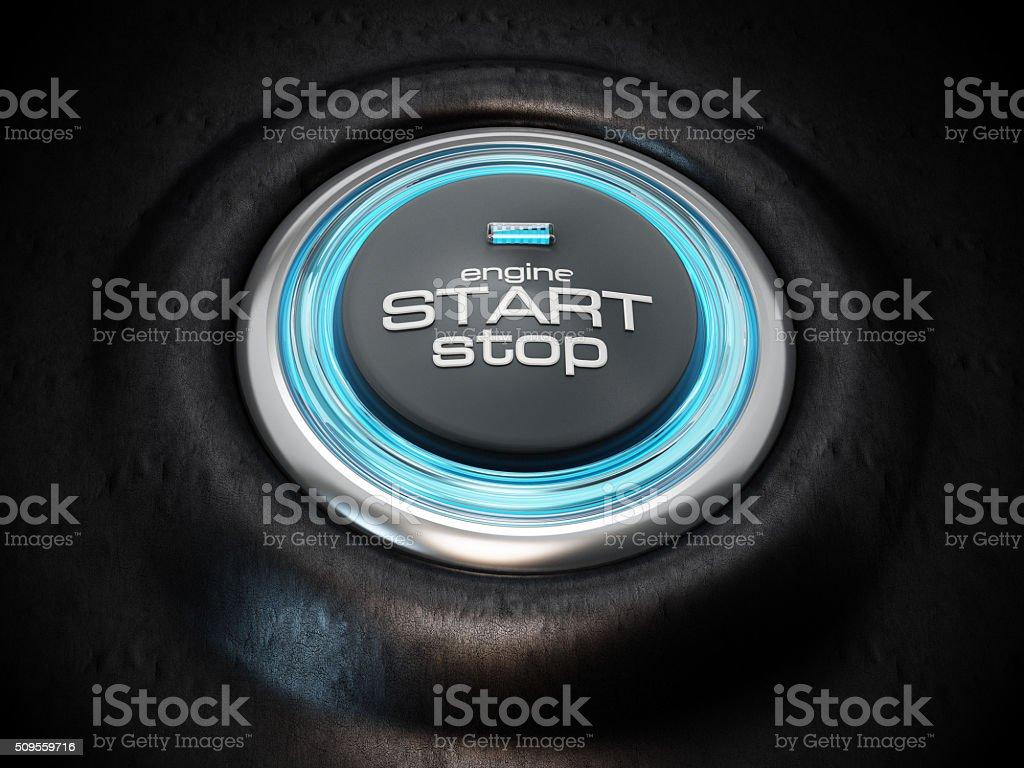 Start&Stop button stock photo