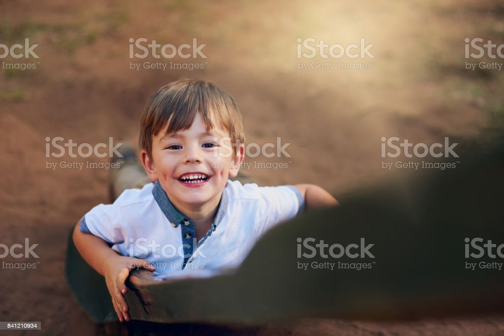 Started from the bottom. Watch me get to the top stock photo