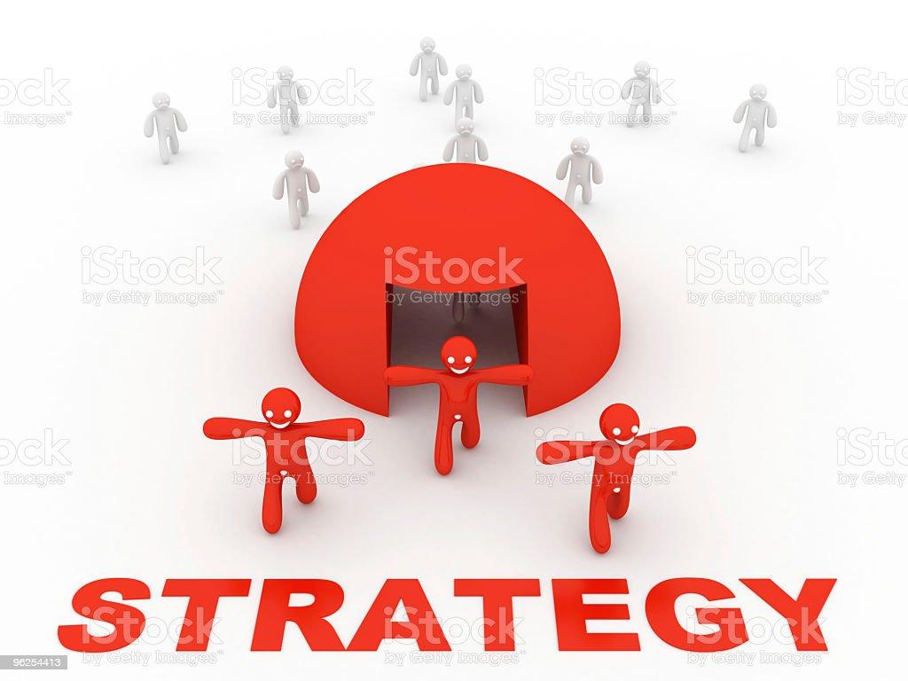 startegy conceito - Foto de stock de Conceito royalty-free