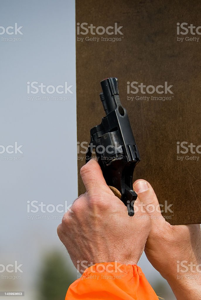 Starter Pistol royalty-free stock photo