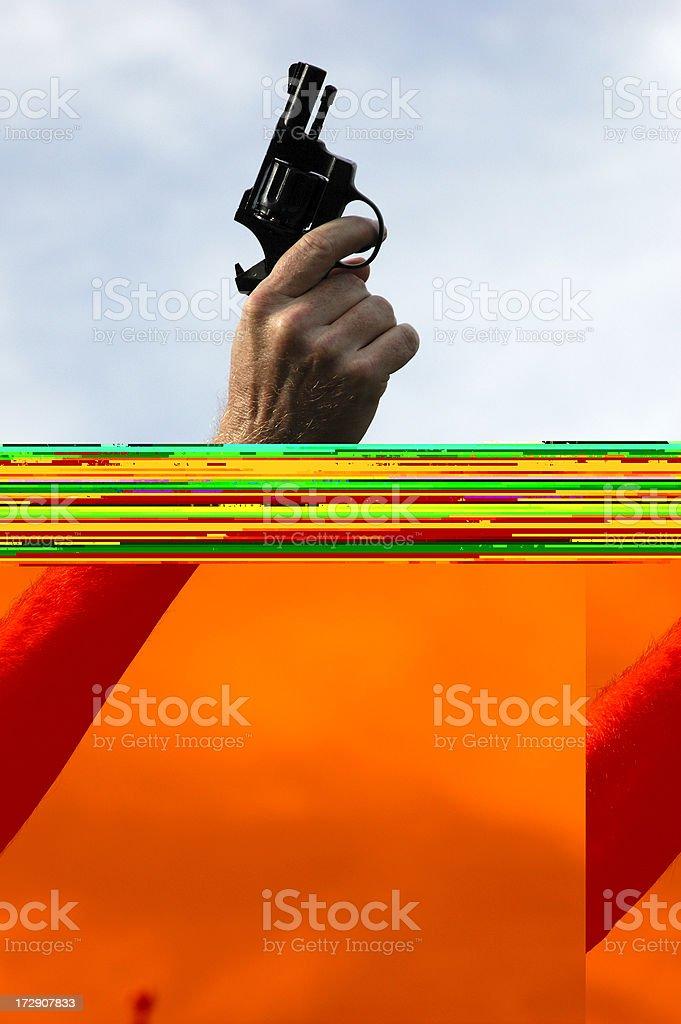 Starter's Gun stock photo