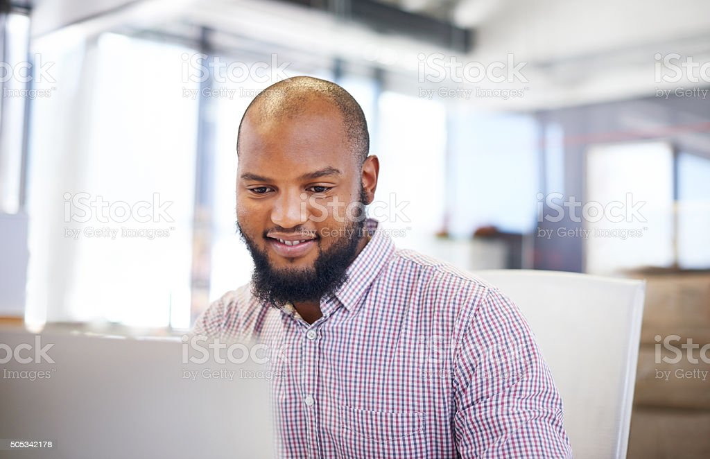 Starting a successful business stock photo