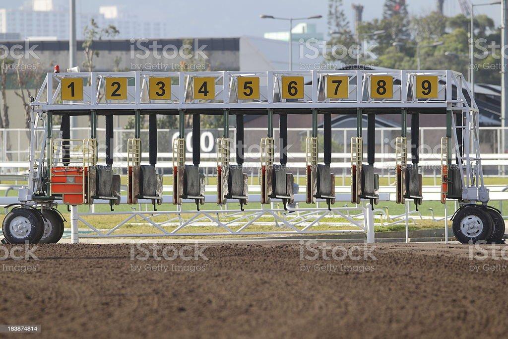 Starting Gate stock photo