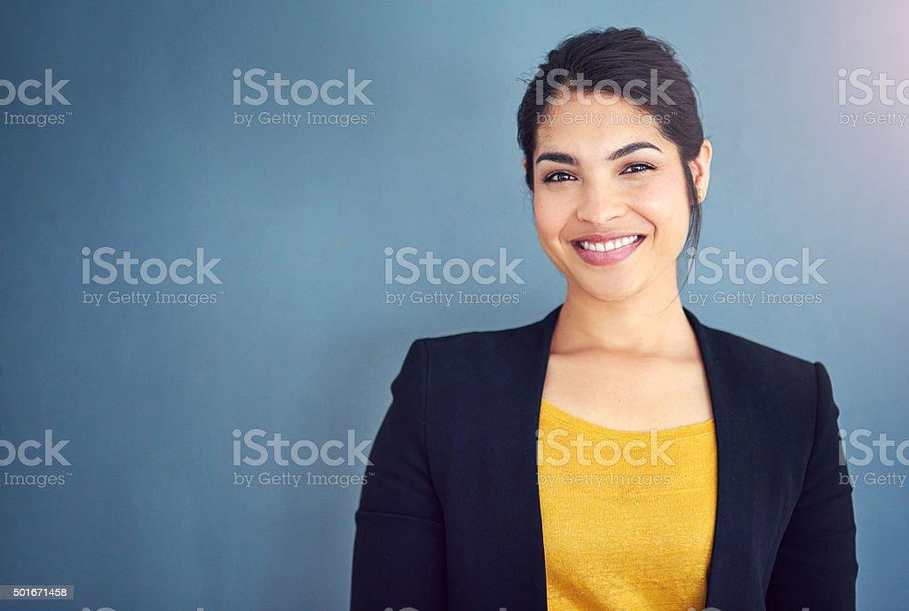 彼女のキャリアを始めたビジネス ストックフォト