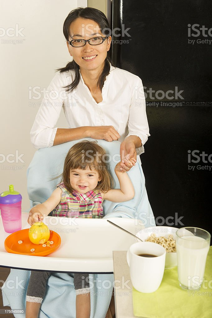 Starting the day stock photo