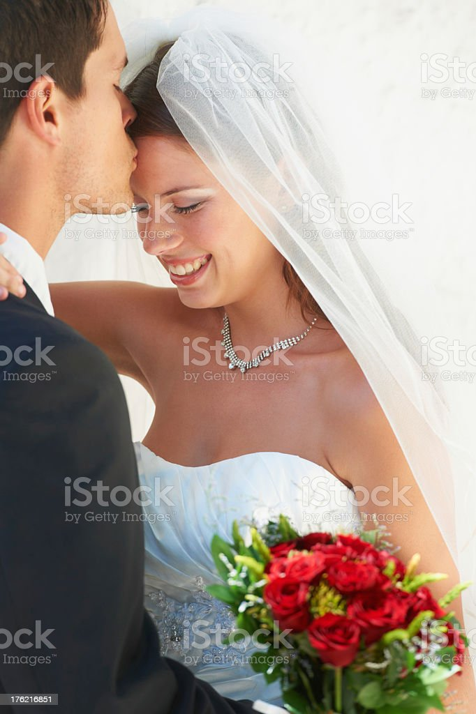 Starting their life together royalty-free stock photo
