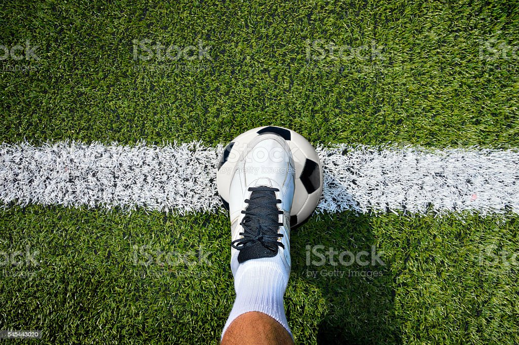starts the match stock photo