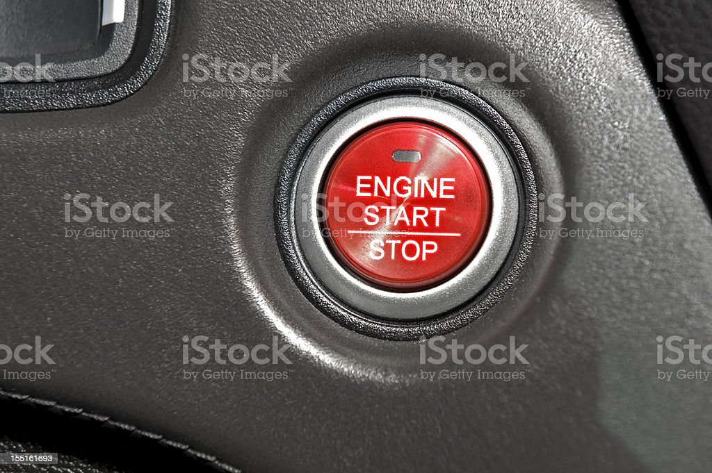 Start/Stop engine royalty-free stock photo