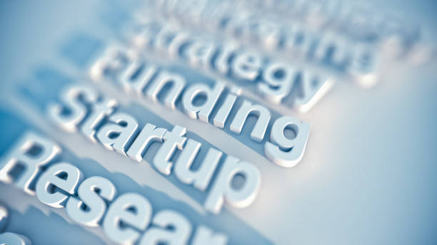 Startup and Funding stock photo