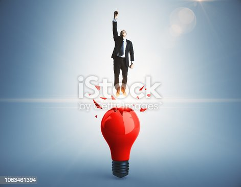 istock Startup and leadership concept 1083461394