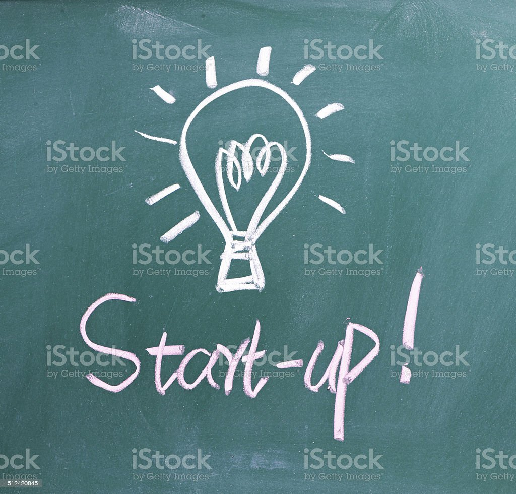 Start-up - Business and Innovation Concept stock photo