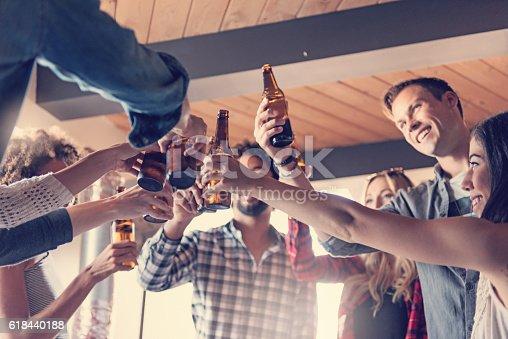 istock Startup Business Celebrating 618440188