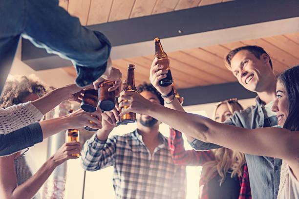 Startup Business Celebrating - foto stock