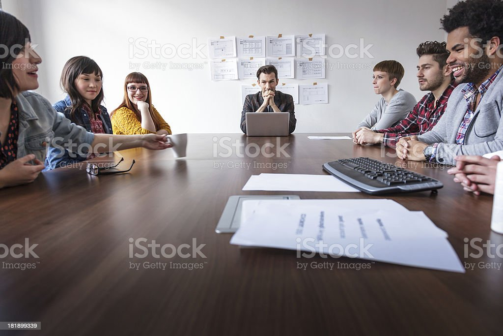 Startup business Meeting stock photo