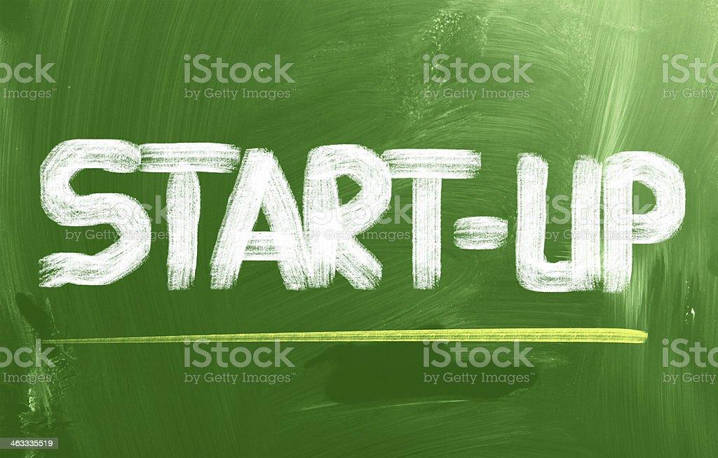 Start-Up Concept stock photo