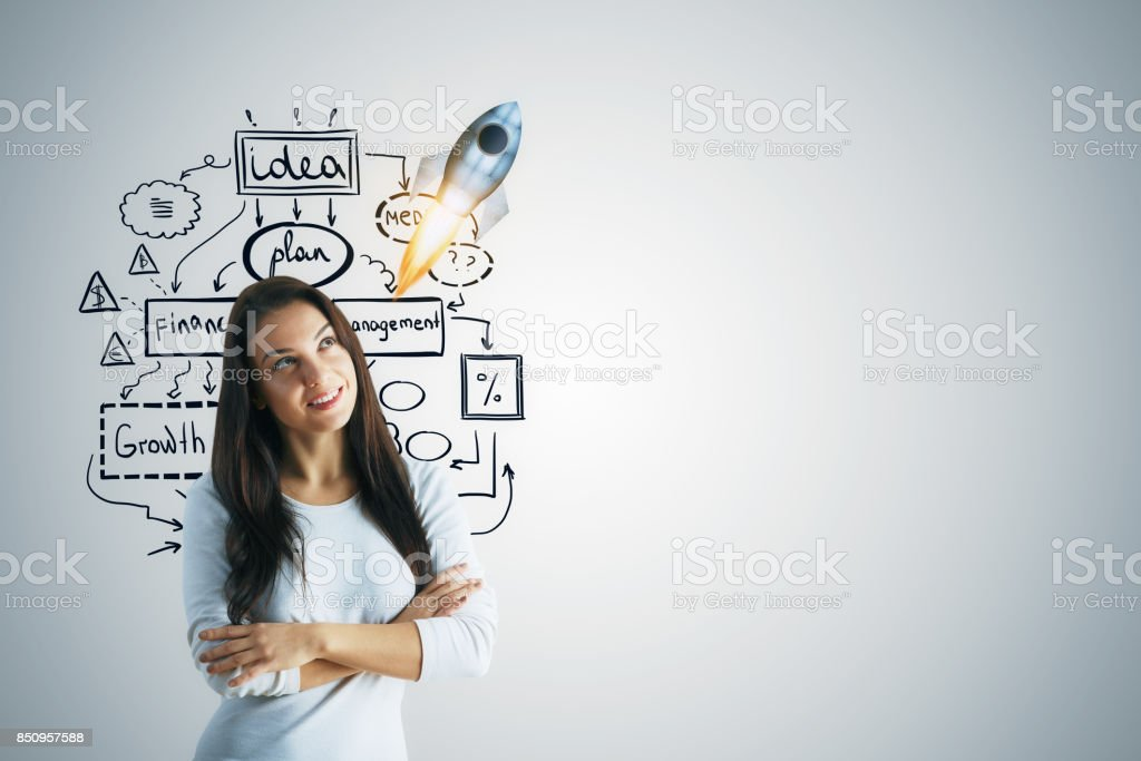 Startup concept stock photo