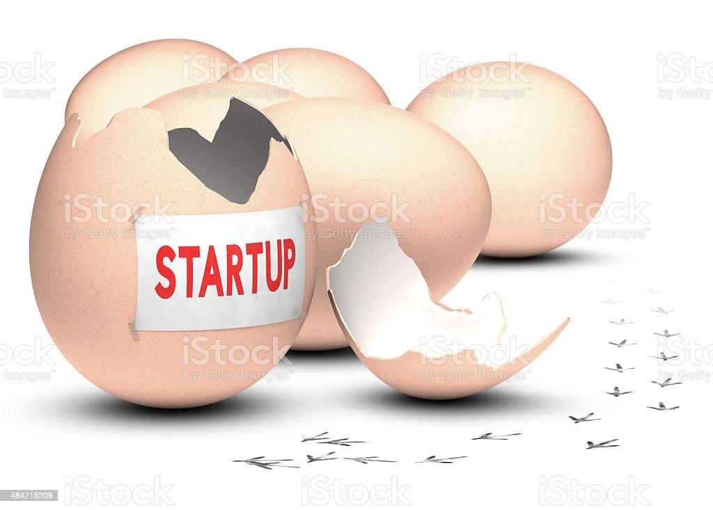 Startup Development Concept stock photo