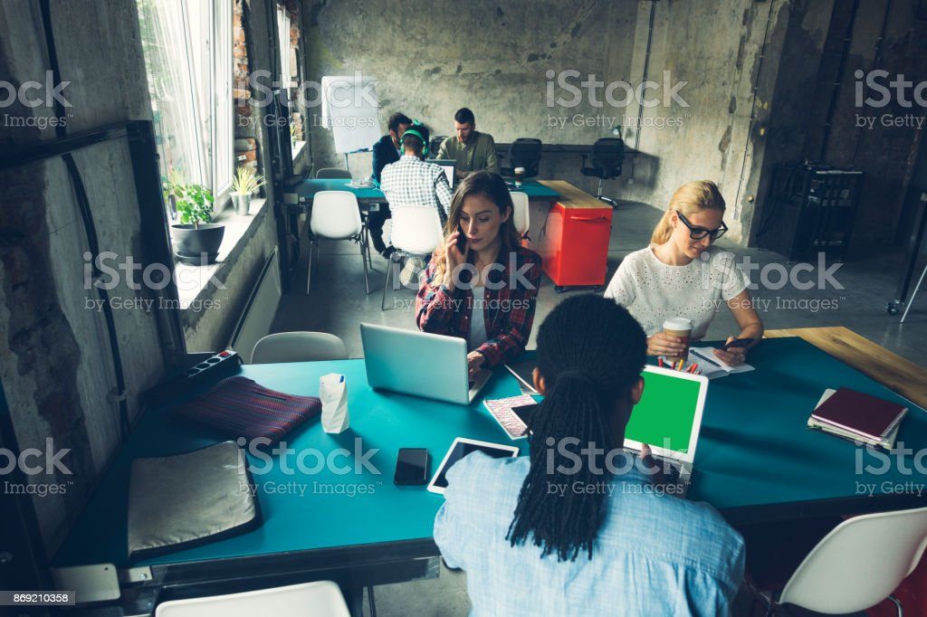 Start-up Meetings stock photo