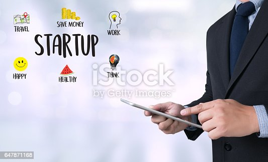 istock Startup New Beginning   Solution  for Goals Start Your 647871168