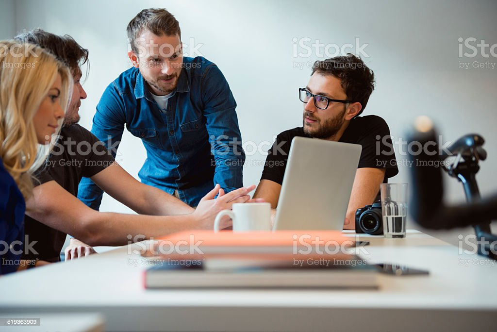 Start-up Team stock photo