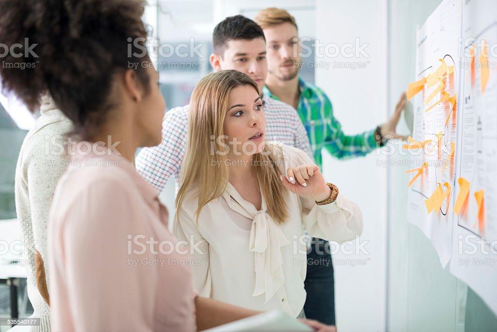 Start-up-team Lizenzfreies stock-foto