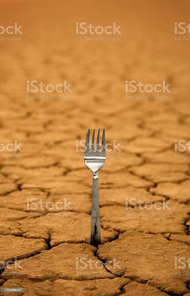 Starvation stock photo