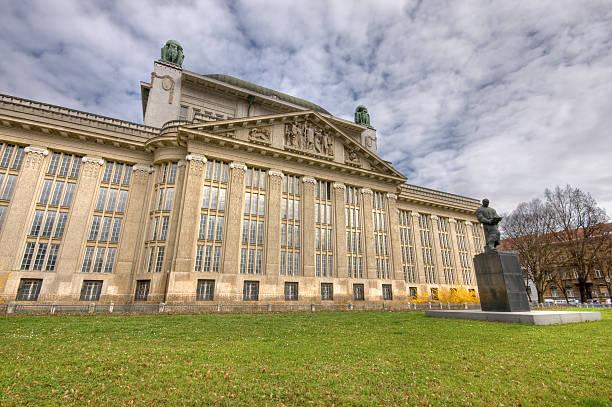 Stato archiviazione building - foto stock
