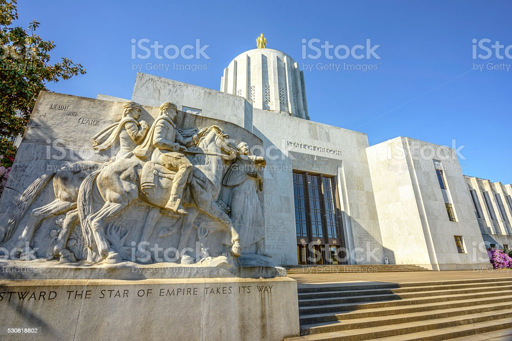 State Calital Building stock photo