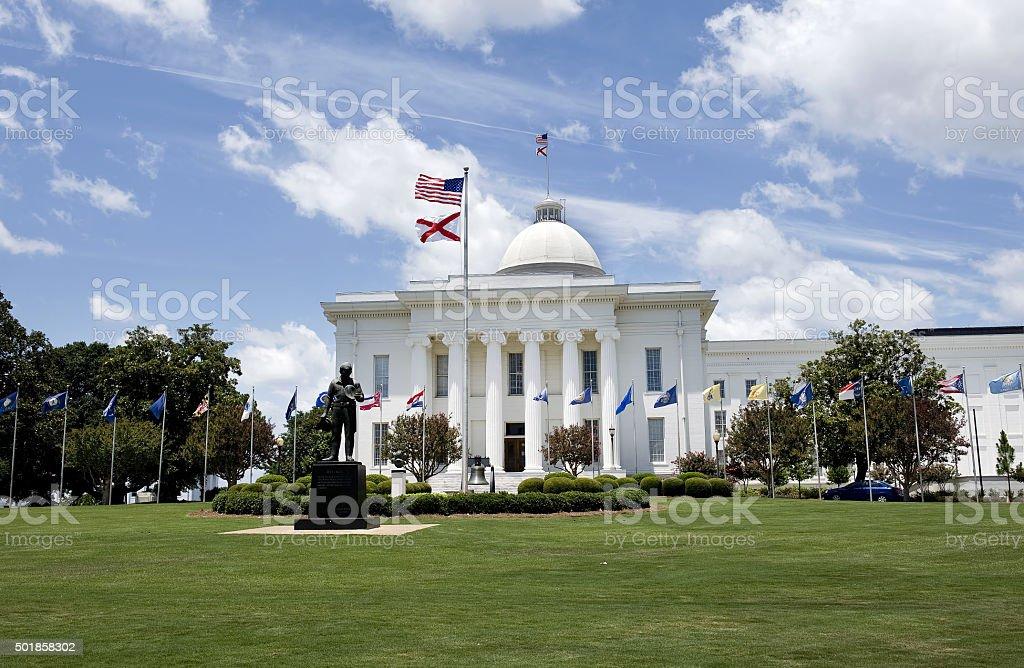 State Capital Building of Alabama. stock photo