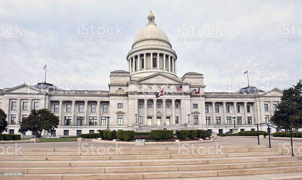 State Capital Of Arkansas. stock photo