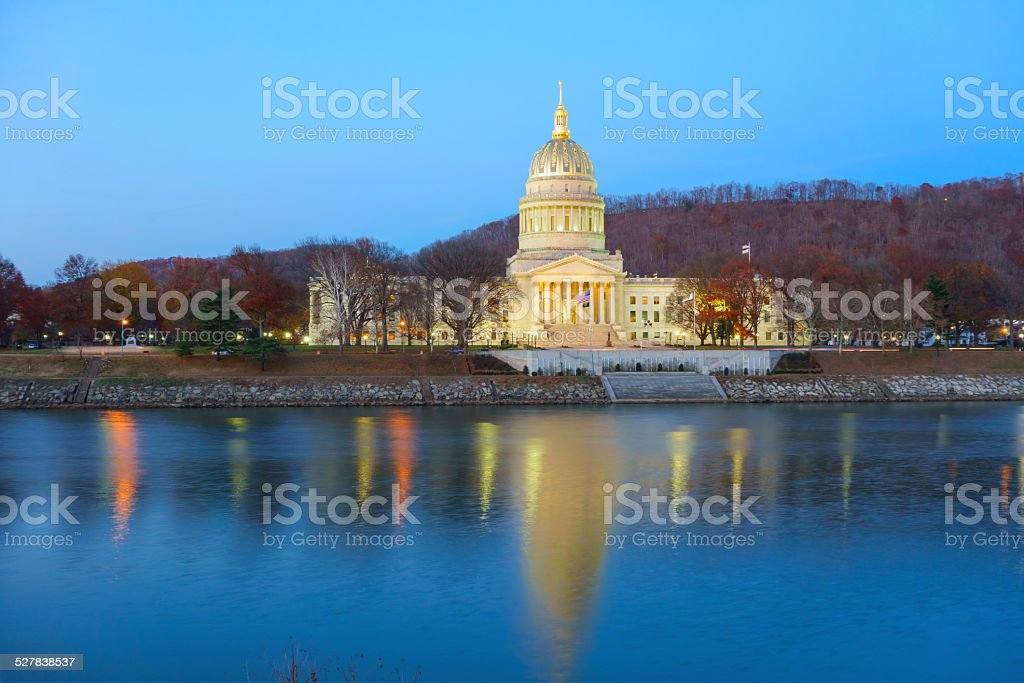 State Capitol Building Charleston, West Virginia, USA stock photo