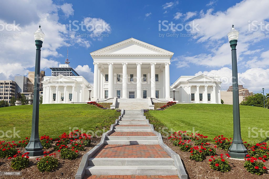 State Capitol Building In Richmond, Virginia royalty-free stock photo