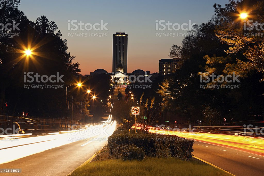 State Capitol Building in Tallahassee stock photo