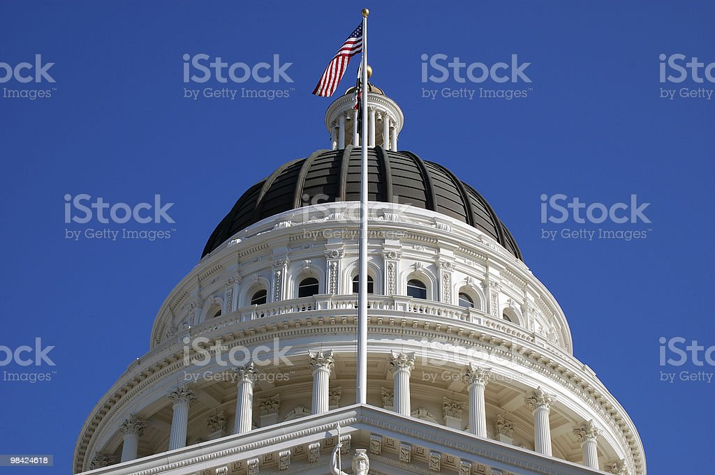 State Capitol Building royalty-free stock photo
