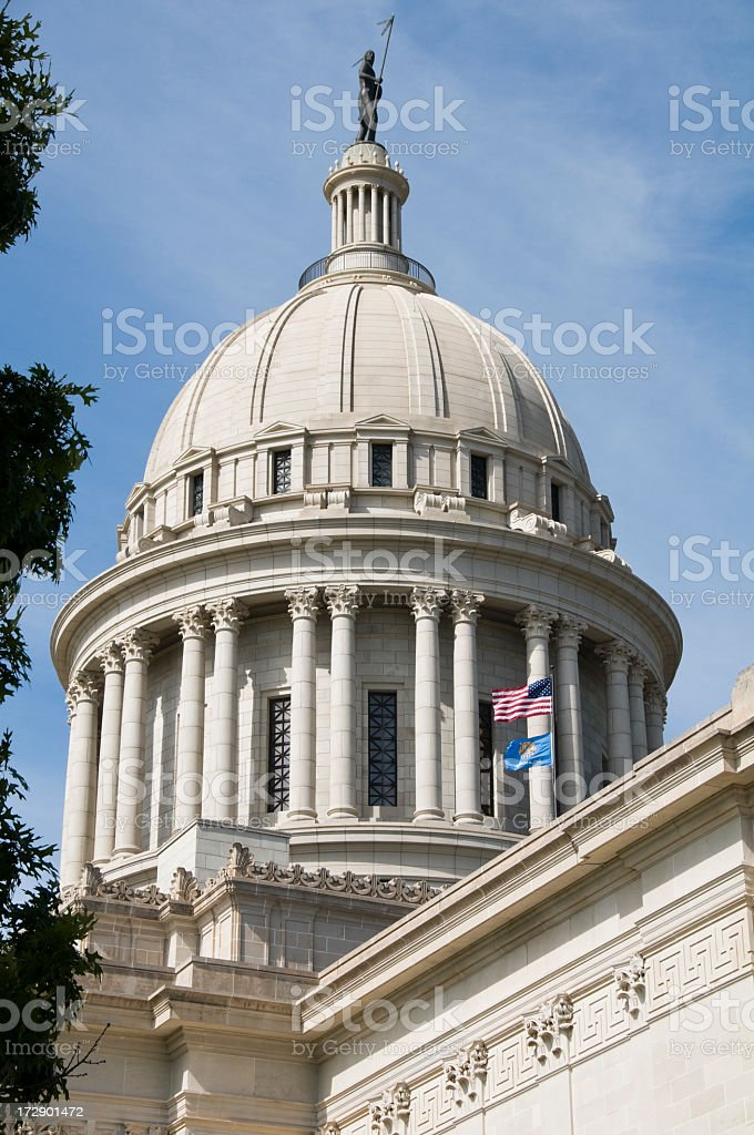 State Capitol - Close up Dome View royalty-free stock photo
