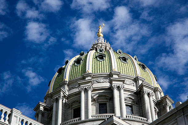 State Capitol Dome in Harrisburg, Pennsylvania – Foto