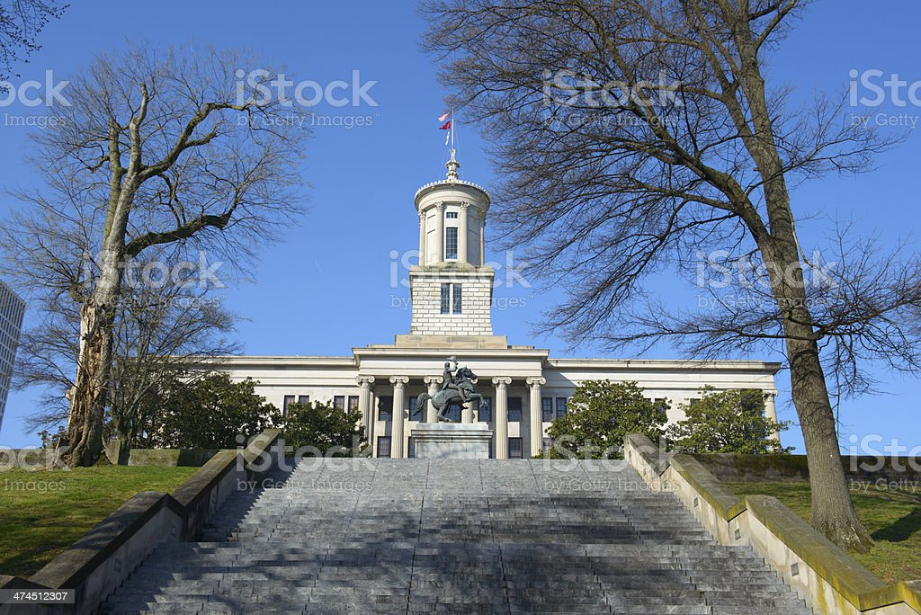 State Capitol in Nashville, Tennessee stock photo