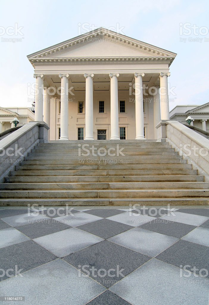 State Capitol In Richmond, Virginia royalty-free stock photo