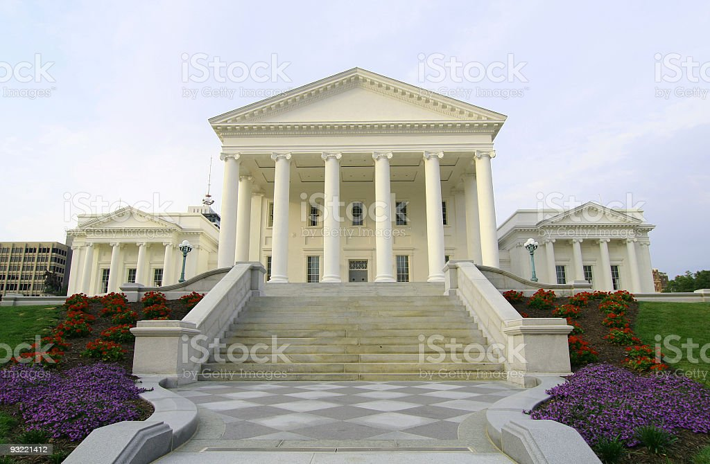 State Capitol In Richmond, Virginia stock photo