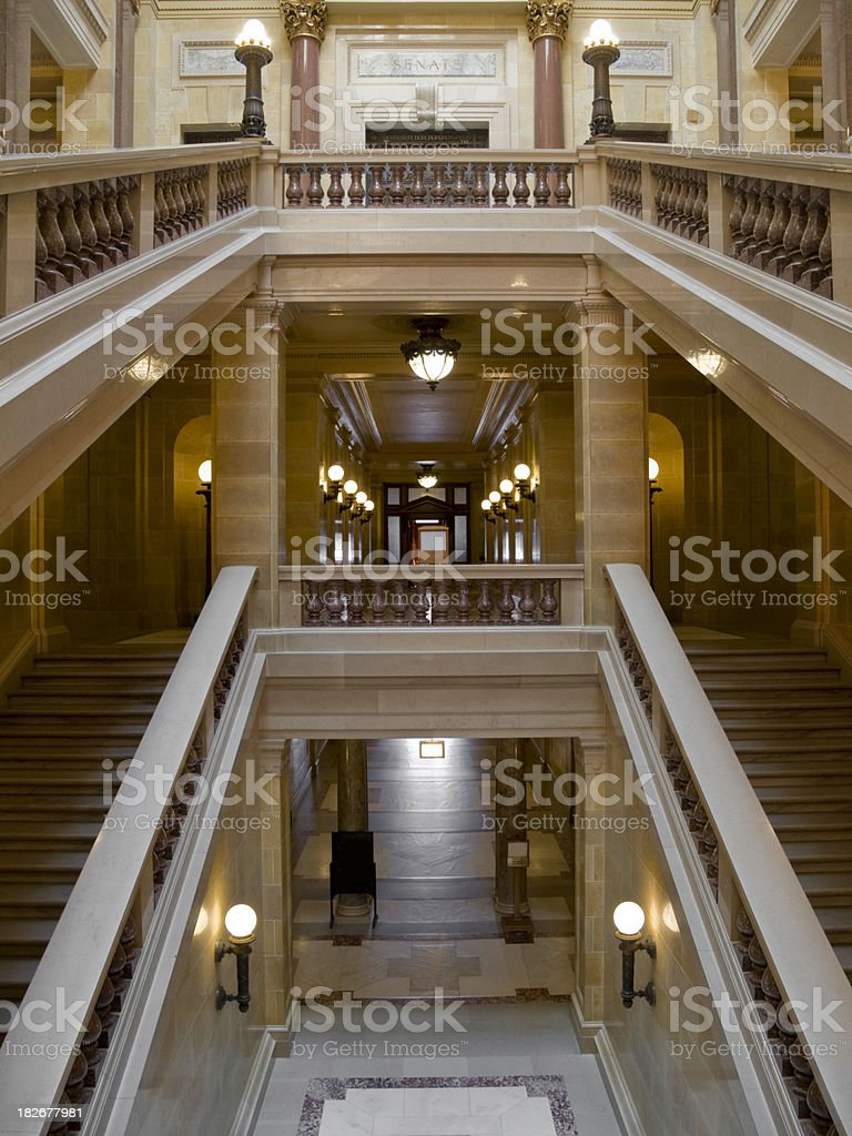State Capitol Madison, Wisconsin stock photo