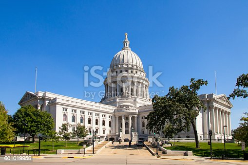 istock State Capitol of Wisconsin, Madison, USA 601019956