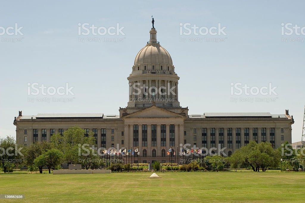 State Capitol, Oklahoma City, OK royalty-free stock photo