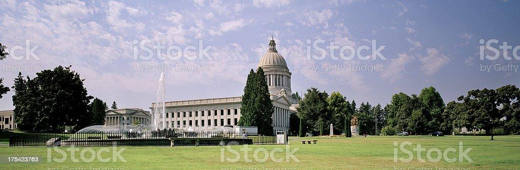 State Capitol, Olympia, Washington, United States royalty-free stock photo