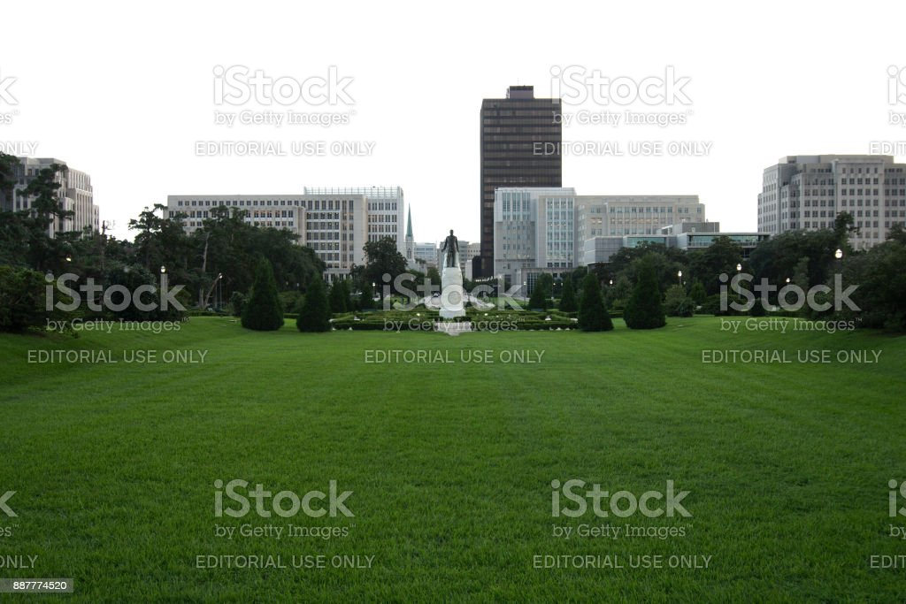 State Capitol Park stock photo