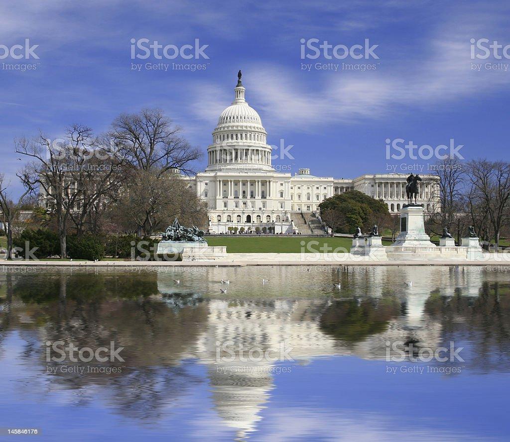 US State Capitol Washington DC stock photo