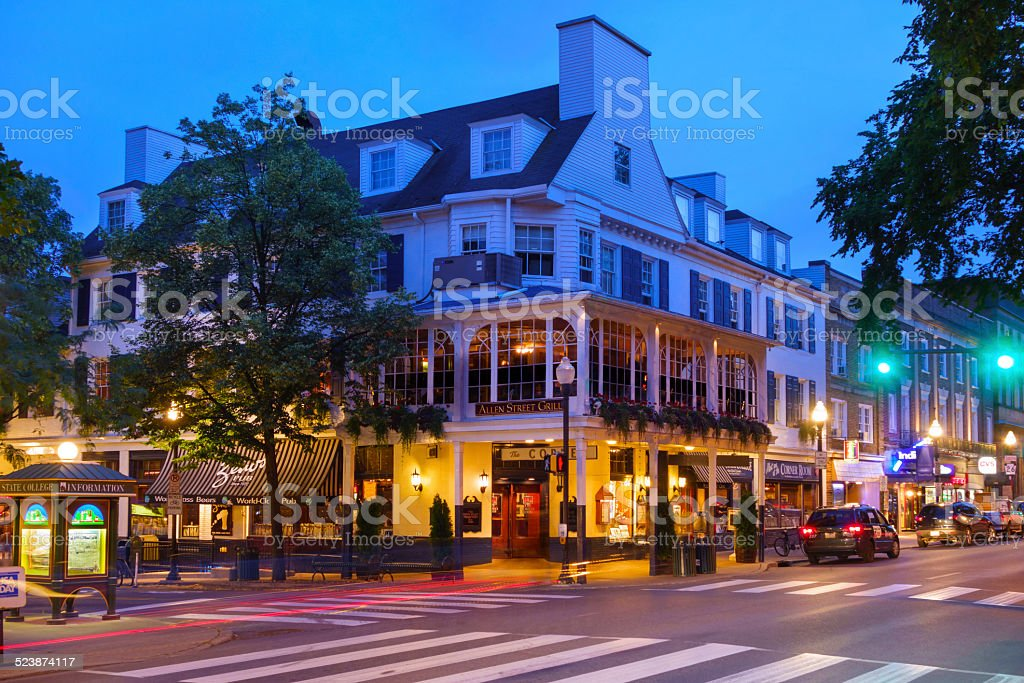 State College, Pennsylvania, USA stock photo
